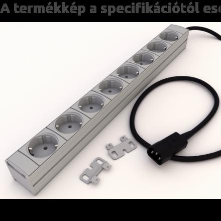 DI-STRIP Compact hálózati elosztó 8db aljzattal