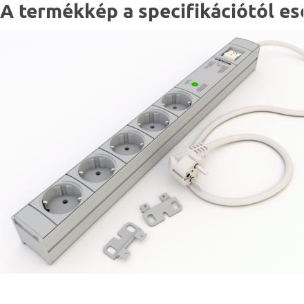 DI-STRIP Safety Standard hálózati elosztó 5db aljzattal