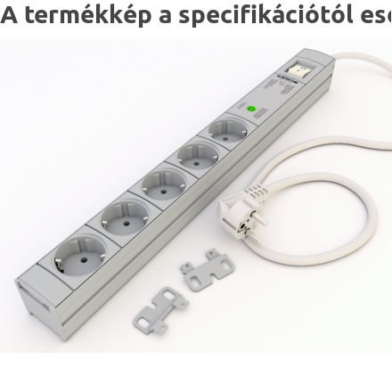 DI-STRIP Safety Standard hálózati elosztó 9db aljzattal