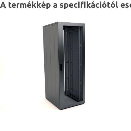 KS350 szerver rackszekrény perforált ajtókkal